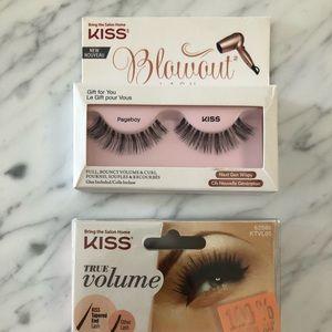 KISS fake lashes: Blowout & true volume - set of 2